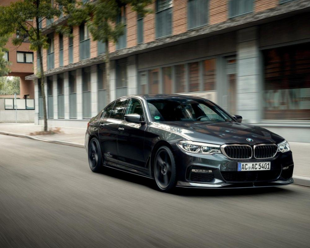 Video: AC Schnitzer Showcases Aftermarket Muffler for BMW 540i