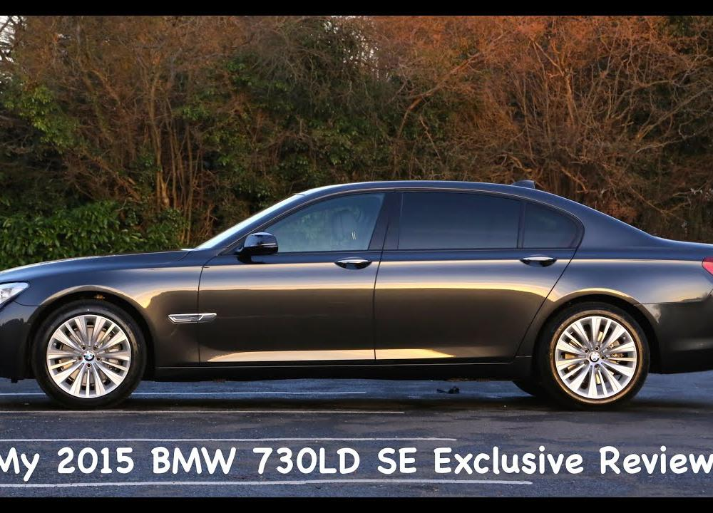 2015 BMW 730LD SE Exclusive Review N57 F02 - YouTube