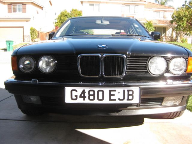 1990 BMW 735i SE Right-Hand-Drive Euro E32 Imported from England ...