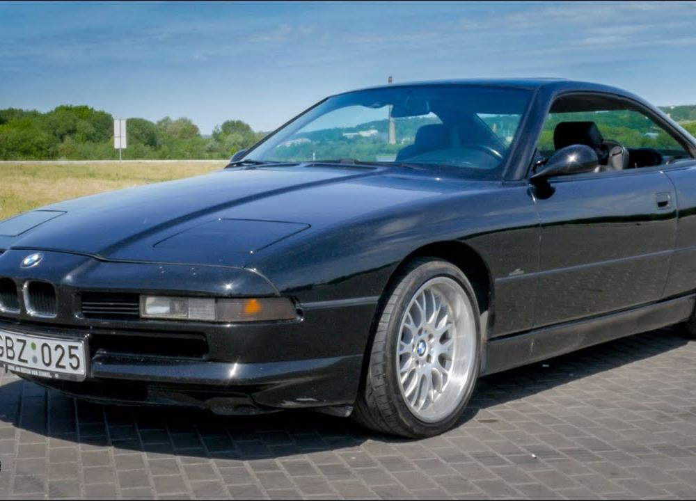 BMW 850 V12 Manual - YouTube