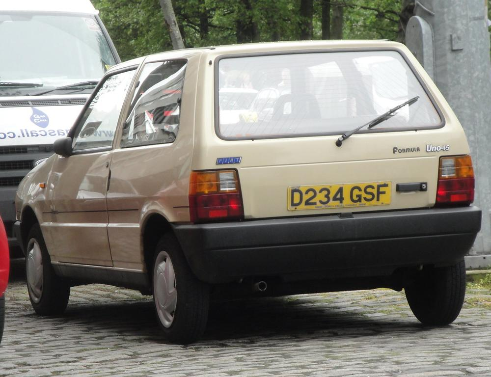1987 Fiat Uno Formula | The Uno I first saw last October in … | Flickr