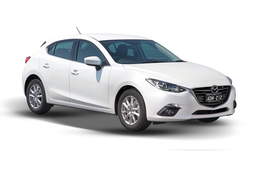 2016 Mazda 3 Maxx Safety, 2.0L 4cyl Petrol Manual, Hatchback