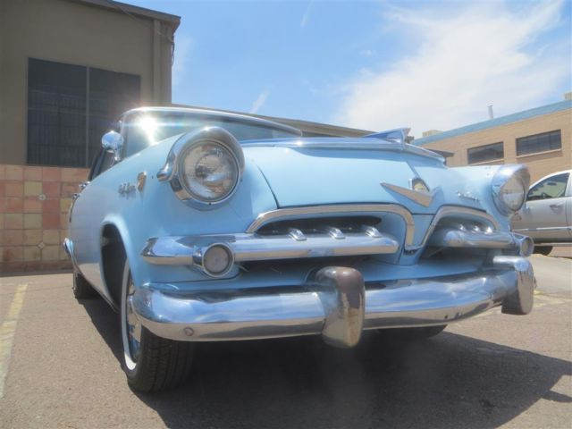 1955 DODGE CUSTOM ROYAL LANCER 4DR, ARIZONA CAR.