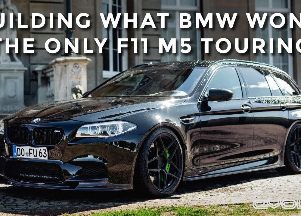 Driving the worlds only F11 M5 Touring - The car BMW should have ...