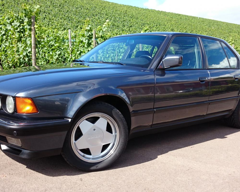 BMW 740iA e32 1993, owned by myself | Granit
