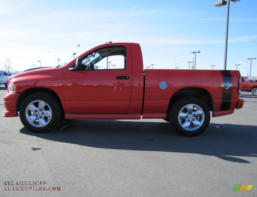 2005 Dodge Ram 1500 SLT Rumble Bee Regular Cab in Flame Red ...