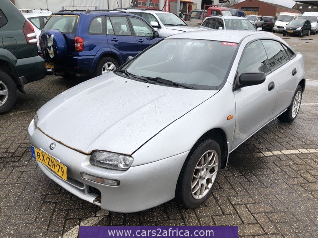 MAZDA 323 1.5 #66025 - used, available from stock