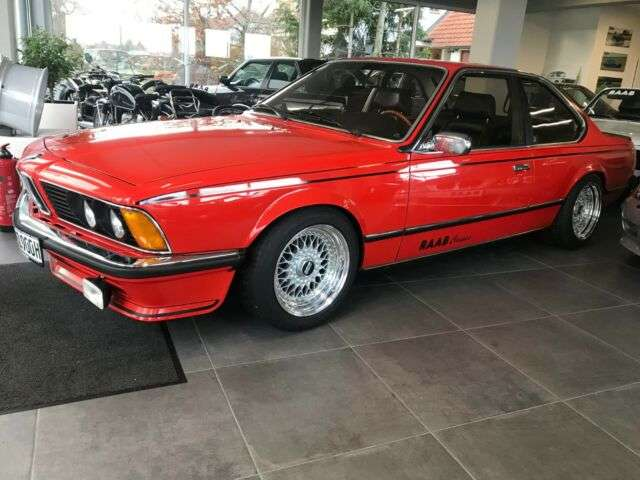 BMW 635 Coupé in Rot Oldtimer in Windelsbach für € 28.500,-