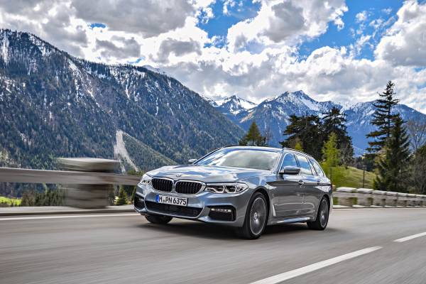 The new BMW 5 Series Touring - additional photos.