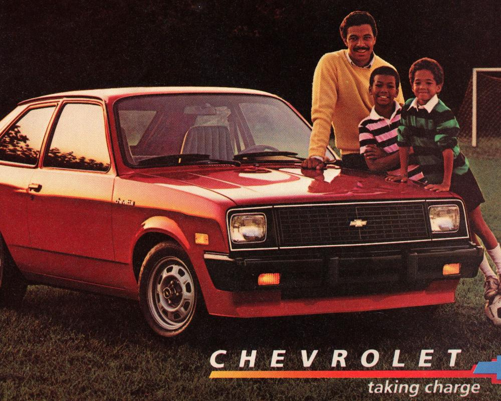 1984: You own the Chevrolet Chevette, instead of the Chevette ...