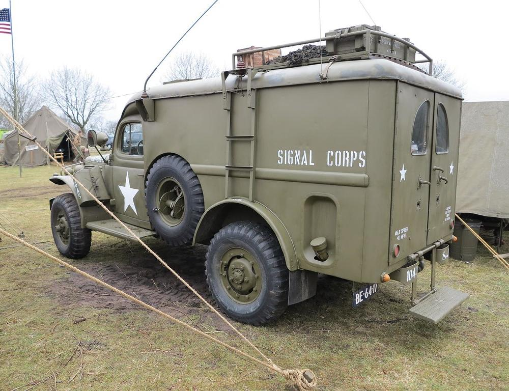 Dodge WC54-T214 | Assen 2013 Operation Amherst | Military Vehicles ...