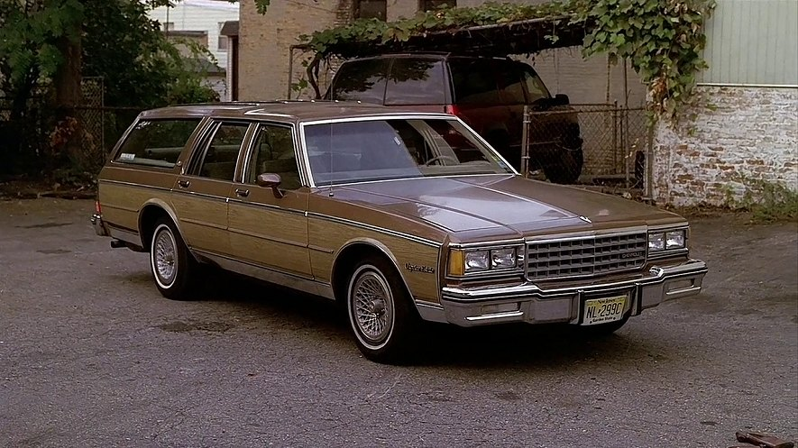 "IMCDb.org: 1985 Chevrolet Caprice Estate Wagon in ""The Sopranos ..."