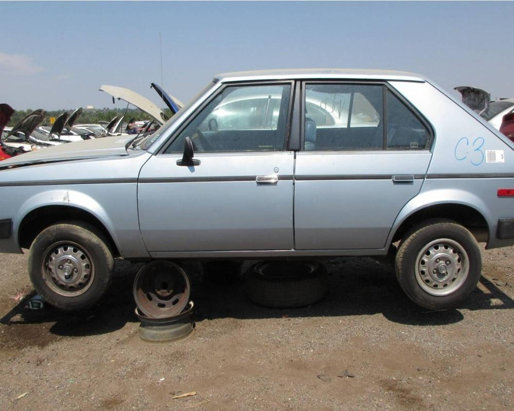 Junkyard Treasure: 1986 Dodge Omni