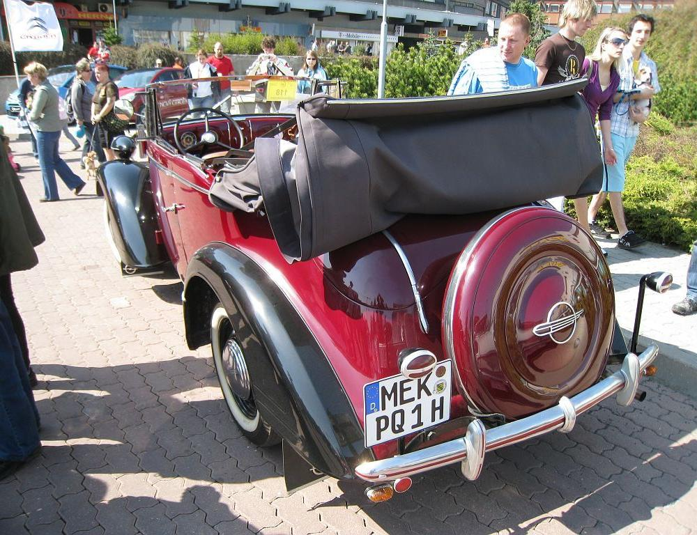 Opel Super 6 Cabriolet | Opel adam, Antique cars, Cars motorcycles