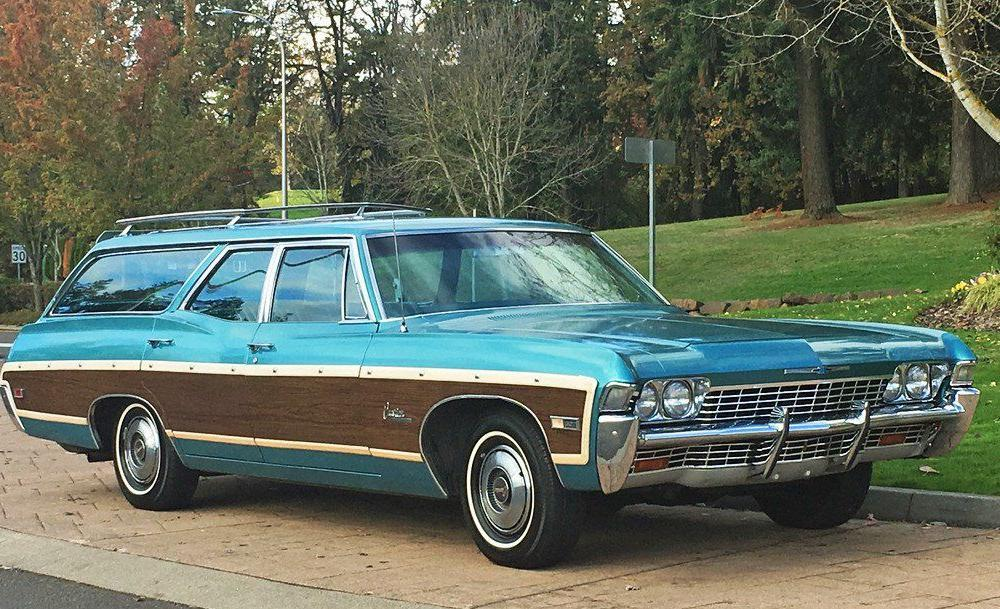1968 Chevrolet Caprice Estate Wagon | Chevrolet caprice, Station ...