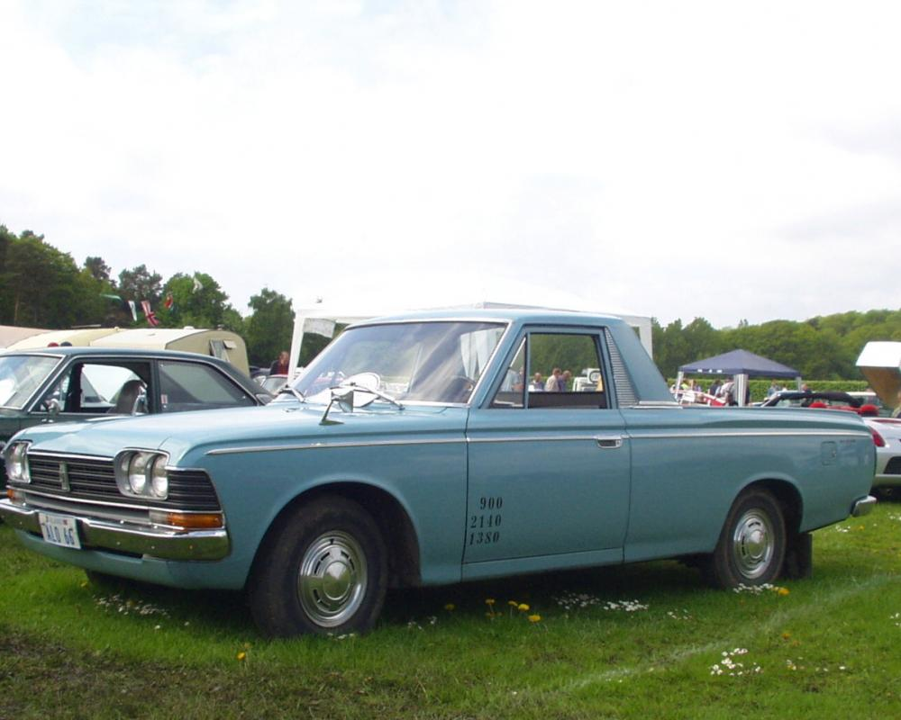 Toyota Crown pickup – Sweden