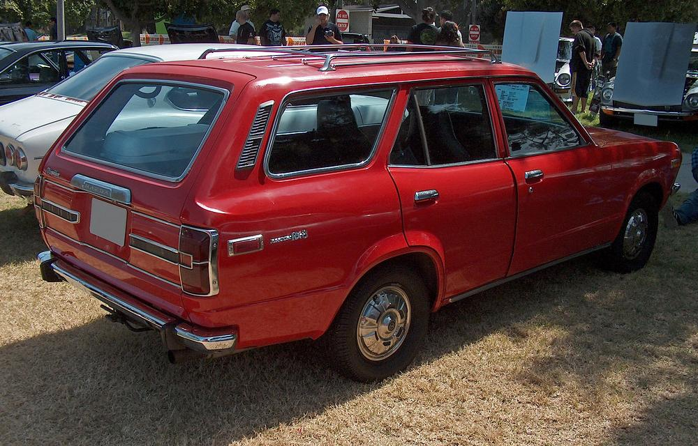 1972 Mazda RX-3 Wagon rear 3q | Ate Up With Motor | Flickr