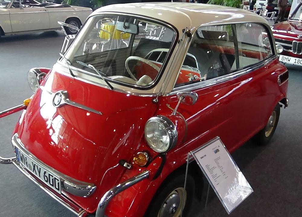 1958 - BMW Isetta 600 - Exterior and Interior - Retro Classics ...