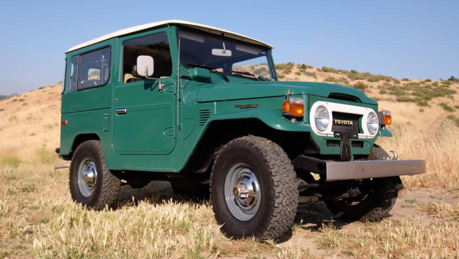 1978 FJ40 Toyota Land Cruiser with just 5,000 miles up for sale