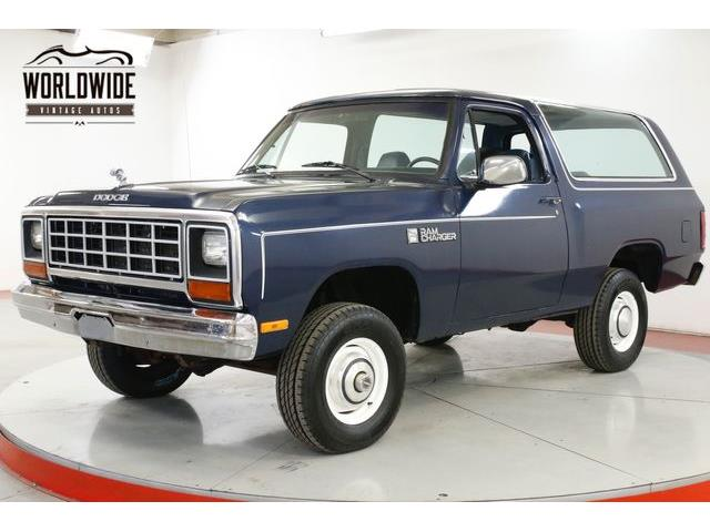 Classic Dodge Ramcharger for Sale on ClassicCars.com