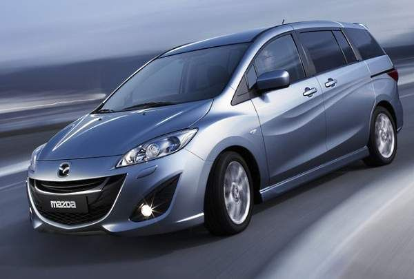 Mazda5 Sport - Minivan with a 6-speed Manual