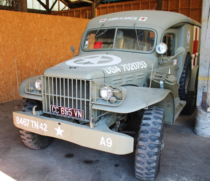 "Dodge WC54 ""Ambulance""-sold - Military classic vehicles"