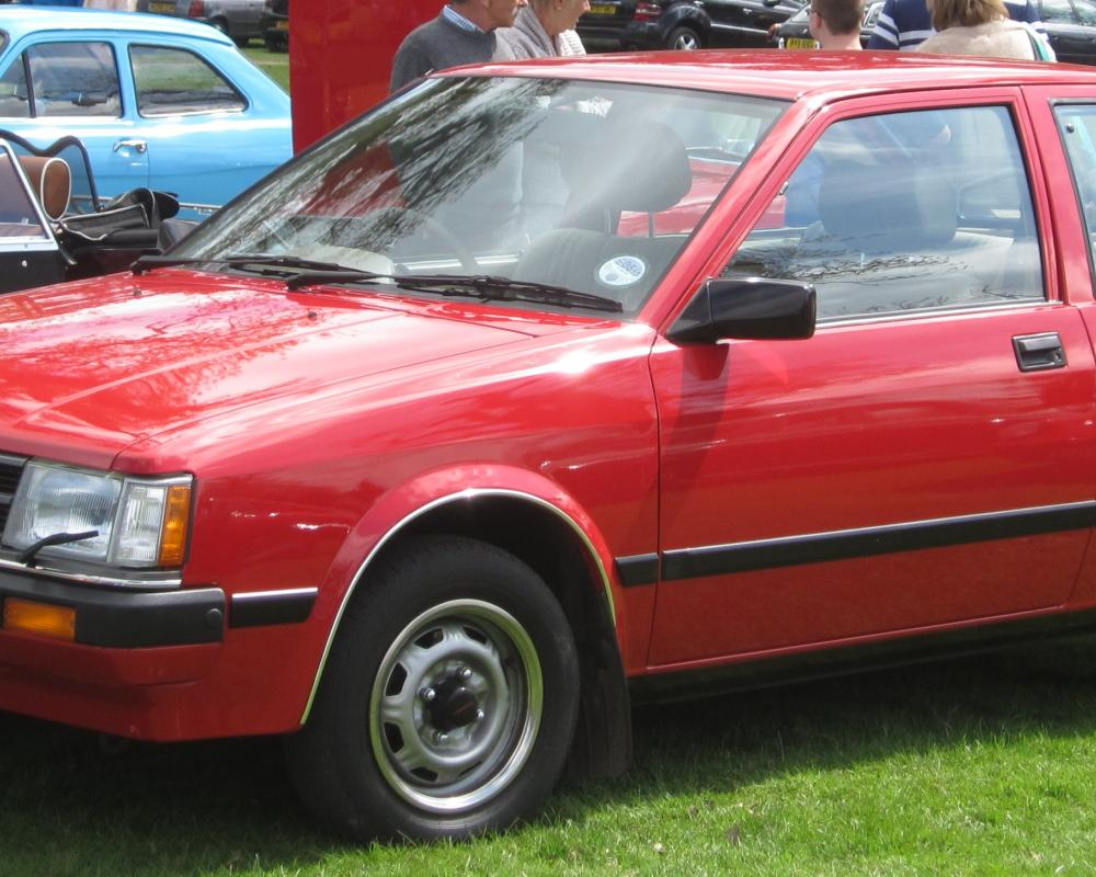 Datei:Nissan Cherry per UK nomenclature first registered sep 1984 ...