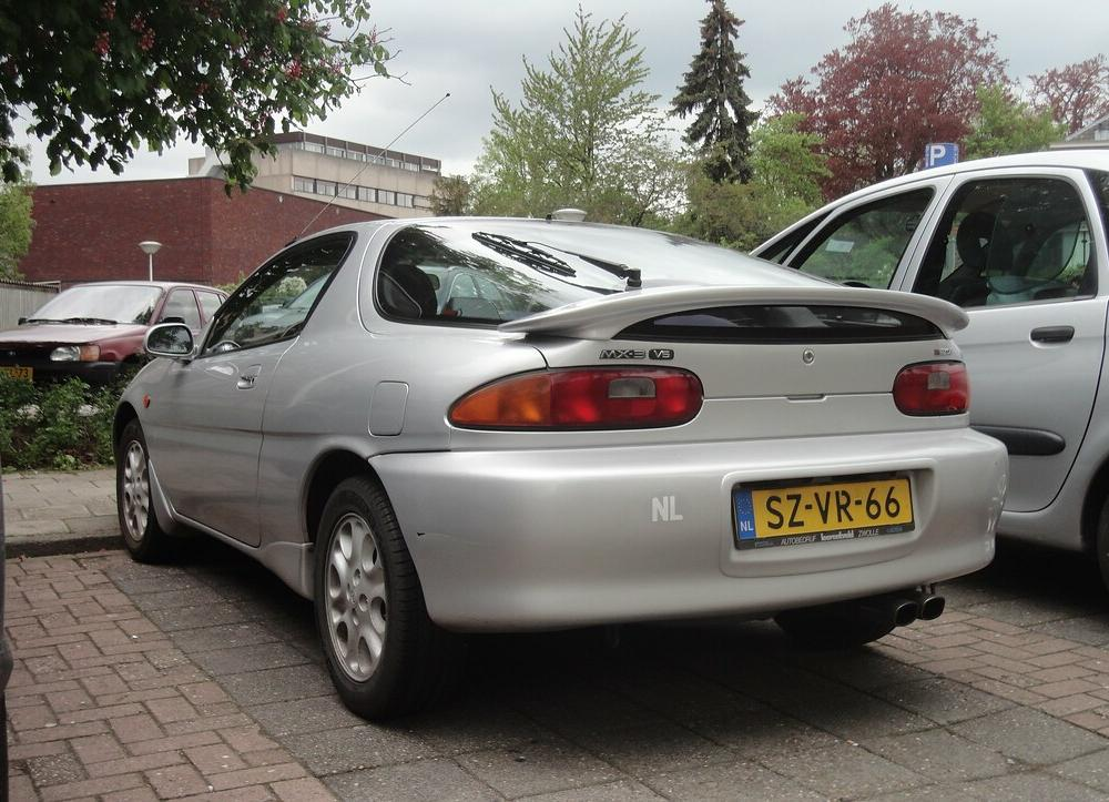 Mazda MX-3 V6 1.8i 24v 7-3-1998 SZ-VR-66 | still from first … | Flickr
