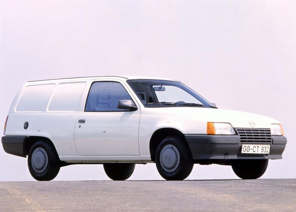 Opel Kadett Lieferwagen E1 (1985 - 1989). | Commercial Vehicles
