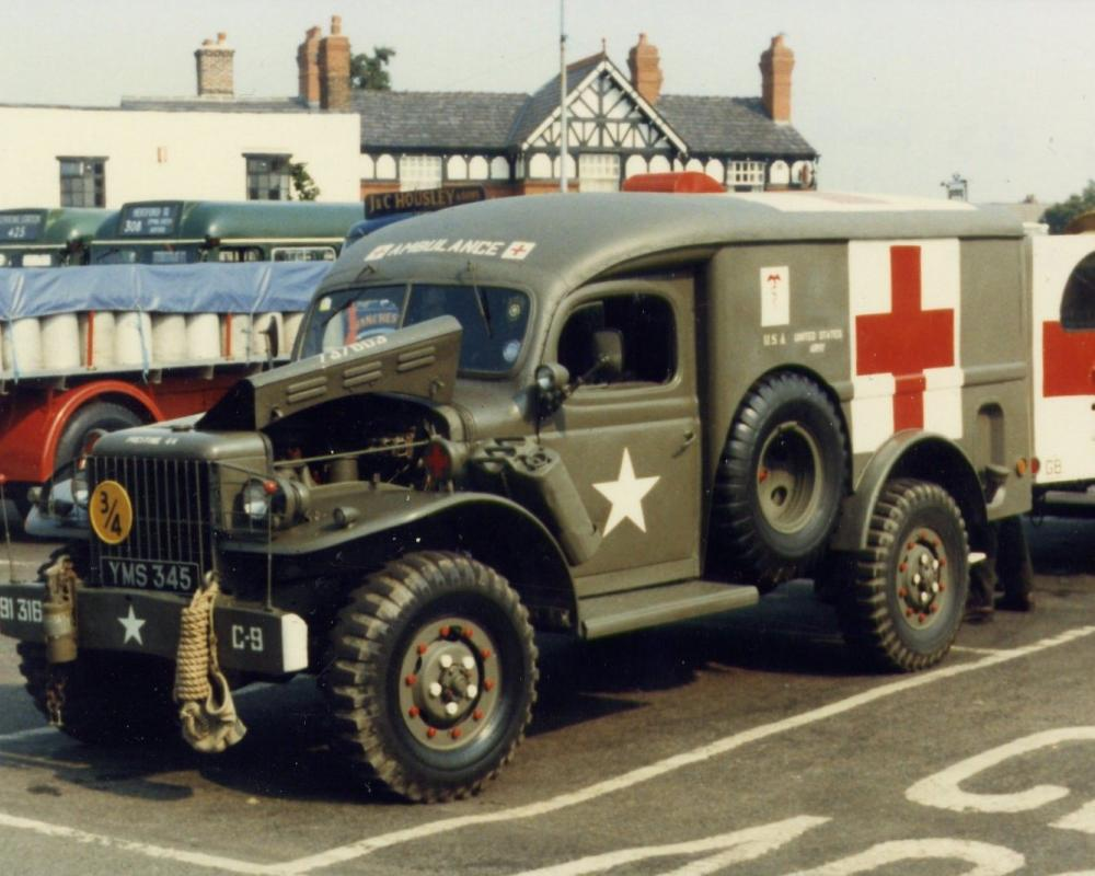 1942 Dodge WC54 | Wwii vehicles, Military vehicles, Us army trucks