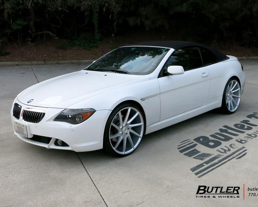 BMW 6 Series with 22in Savini BM15 Wheels exclusively from Butler ...