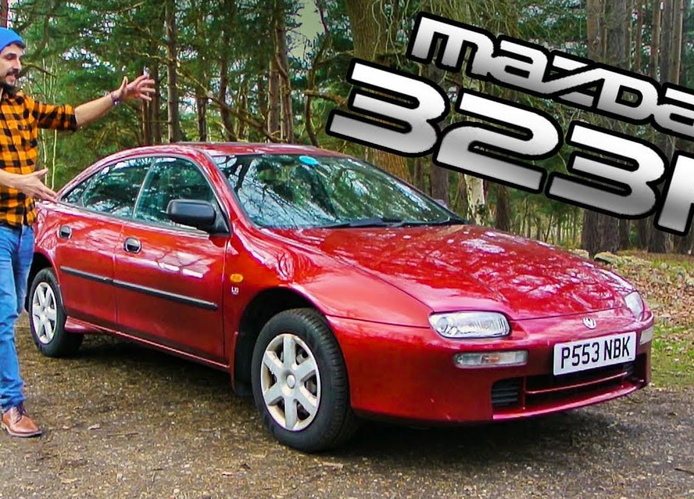 Mazda 323F/Lantis review in less than 4 minutes - YouTube