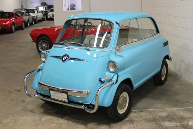 1958 BMW Isetta 600 Limo NO RESERVE! for sale: photos, technical ...