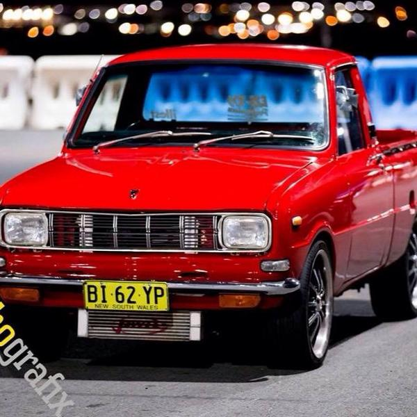 "Zac Reynolds on Twitter: ""A mate rotary Mazda 1000 ute http://t.co ..."