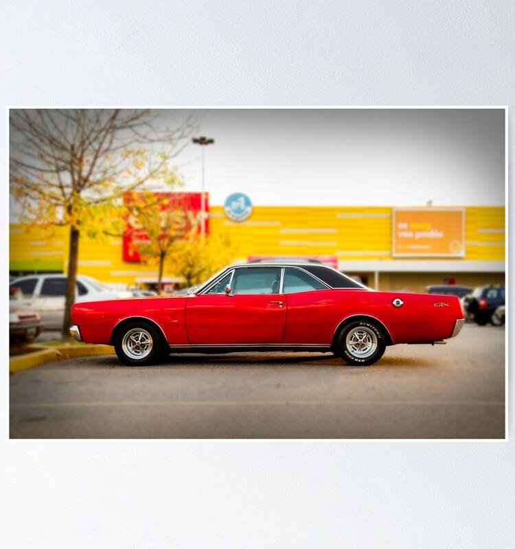 "Dodge GTX Coupe"" Poster von htrdesigns 