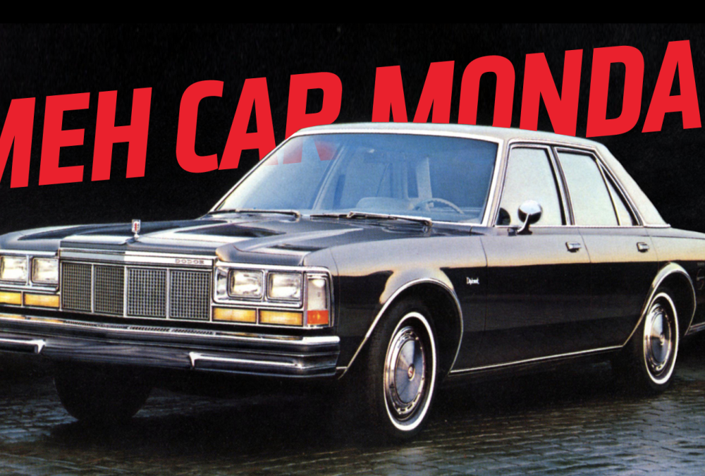 Meh Car Monday: The Dodge Diplomat Has Immunity From Being Interesting