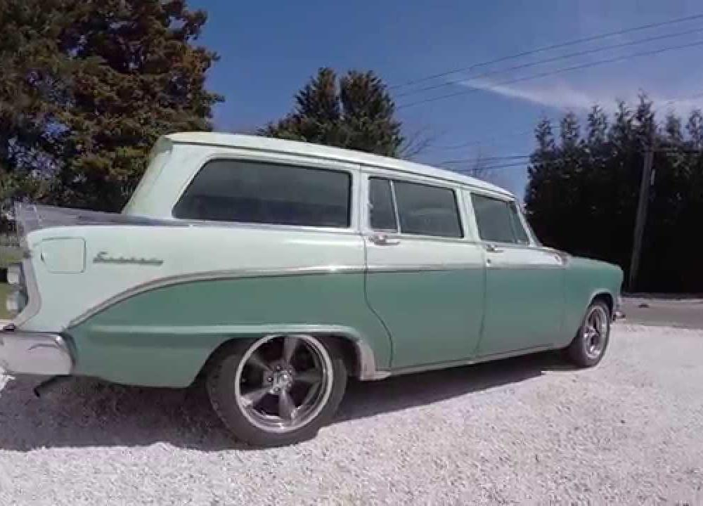 1956 Dodge Sierra Wagon For Sale~9 Pass~315~Push Button Trans~VERY ...