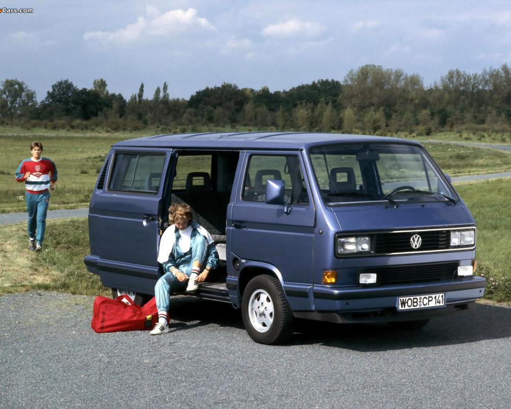 Volkswagen T3 Multivan Bluestar 1989–90 wallpapers (1280x960)