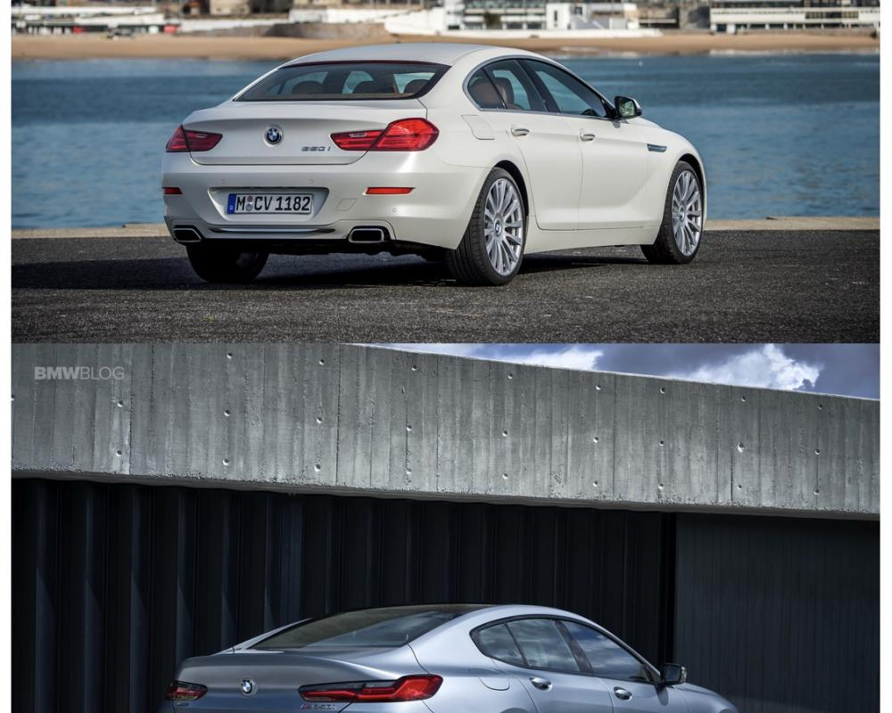 Photo Comparison: BMW 8 Series Gran Coupe vs BMW 6 Series Gran Coupe