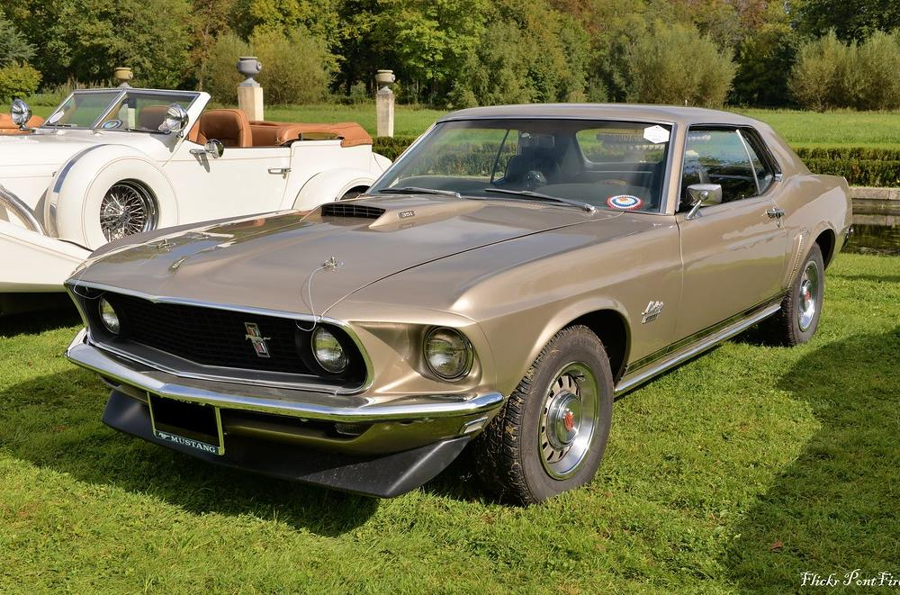 1969 Ford Mustang GT 351 coupe | Chantilly arts & élégance 2… | Flickr