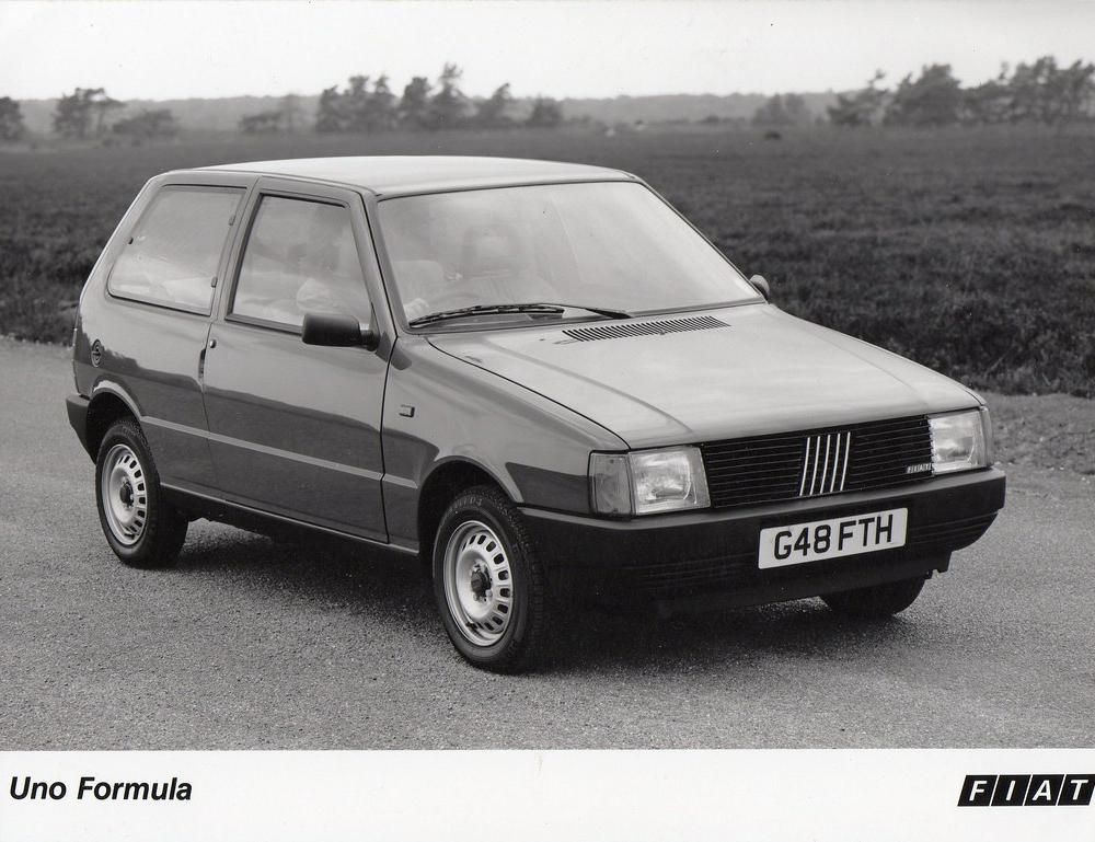 Fiat Uno Formula press photo | Another eBay purchase receive… | Flickr