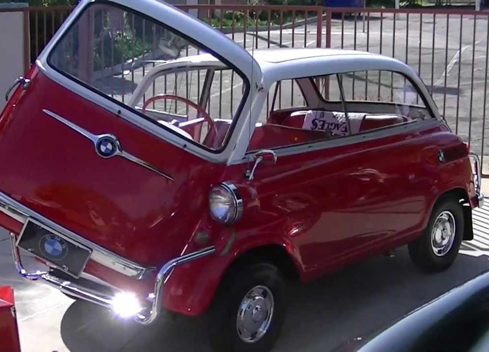 1959 BMW 600 Bubble Car - YouTube