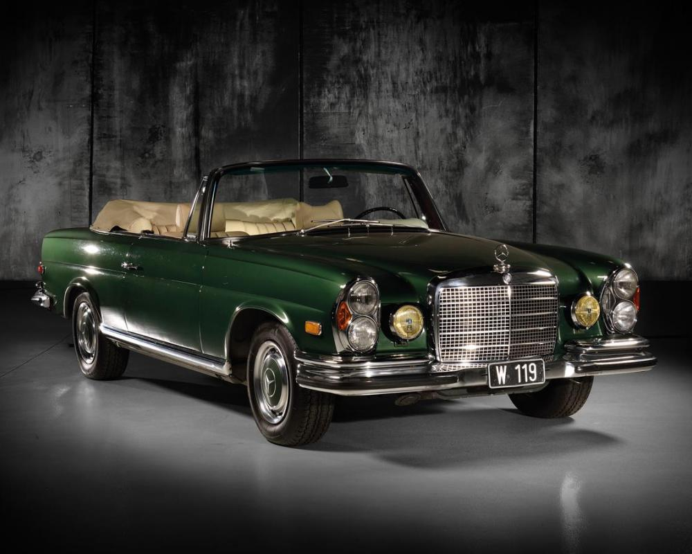 1970 Mercedes-Benz 280 SE 3.5 Cabriolet (without reserve) - The ...
