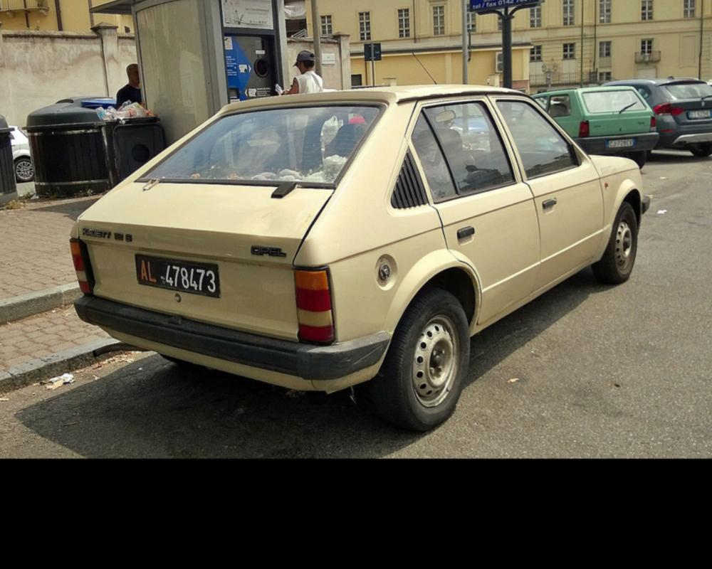 1983 Opel Kadett 1.2 S | Euro cars, Vintage cars, Vehicles