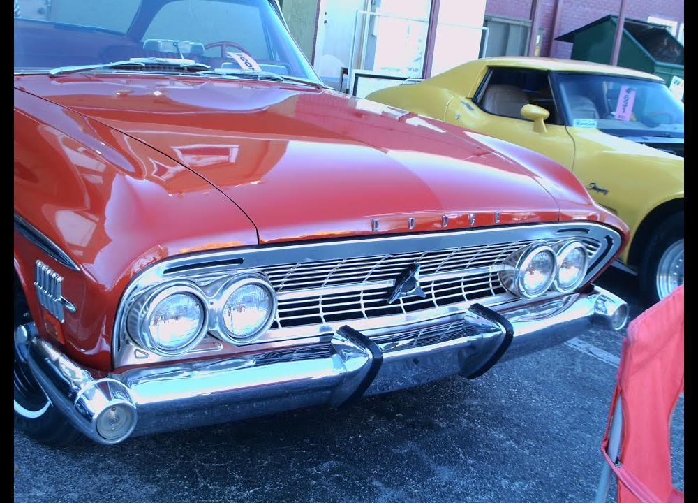 1962 Dodge Custom 880 Two Door Hardtop RedWht OldTown020715 - YouTube