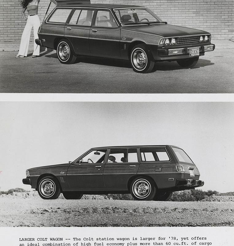 Dodge Colt Station Wagon 1978 - Digital Collections - Free Library