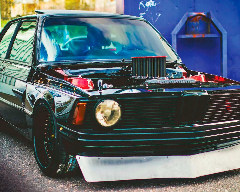 Steam Punk Beemer – 200bhp M20-Engined 2.7-Litre Stunning BMW E21 ...
