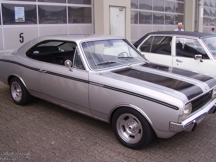 Opel Rekord Sprint Coupe #0704