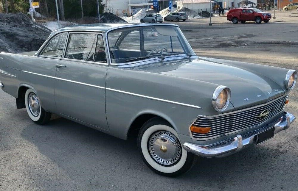 1962 Opel Rekord P2 Coupe – German Cars For Sale Blog