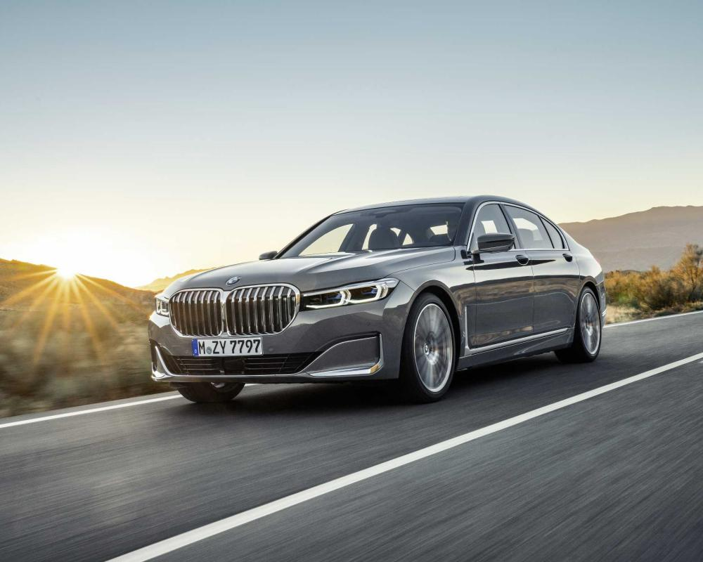 The new BMW 7 Series.